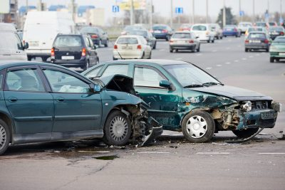 Photo of a Car Accident T Bone